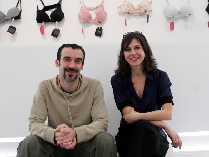 Dražen Grubišić with Olinka Vistica